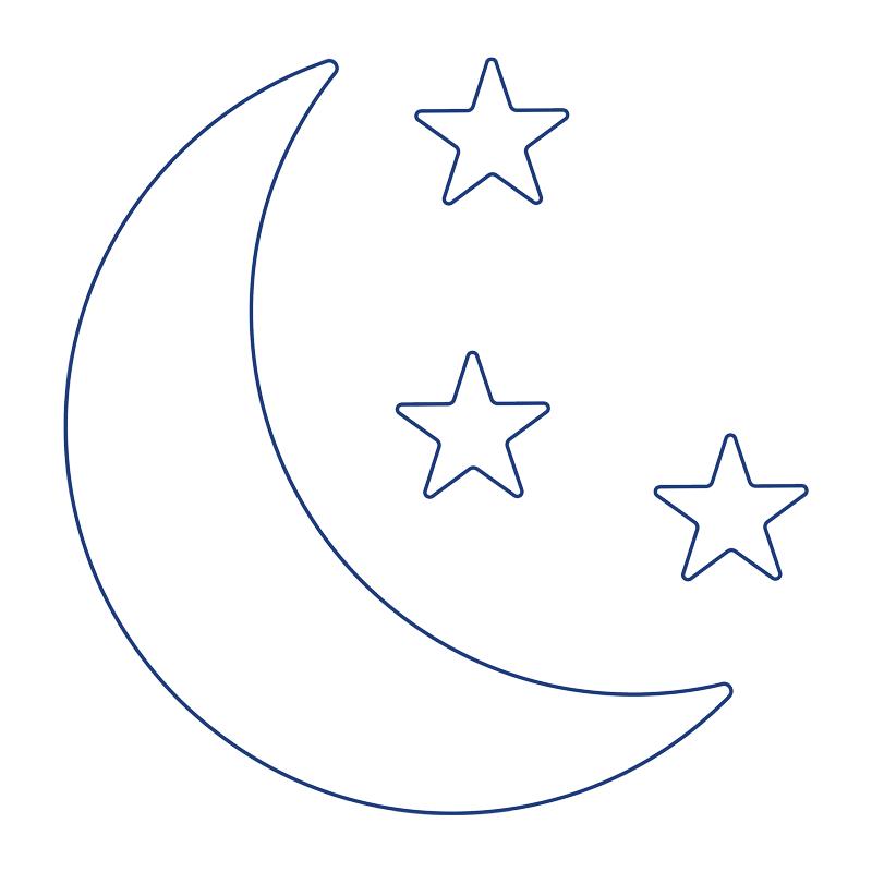 gece görüş simgesi