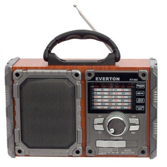 EVERTON RT-802BT USB/SD/FM/BLUETOOTH DESTEKLİ NOSTALJİK RADYO
