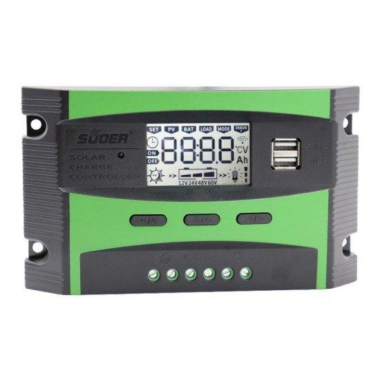 SUOER ST-C1220 12-24 VOLT 20 AMPER AKÜ ŞARJ CİHAZI (2 USB GİRİŞLİ 5 V-2.1A)